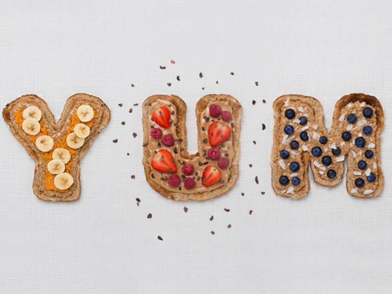 3 MORE WAYS TO DO PEANUT BUTTER ON TOAST