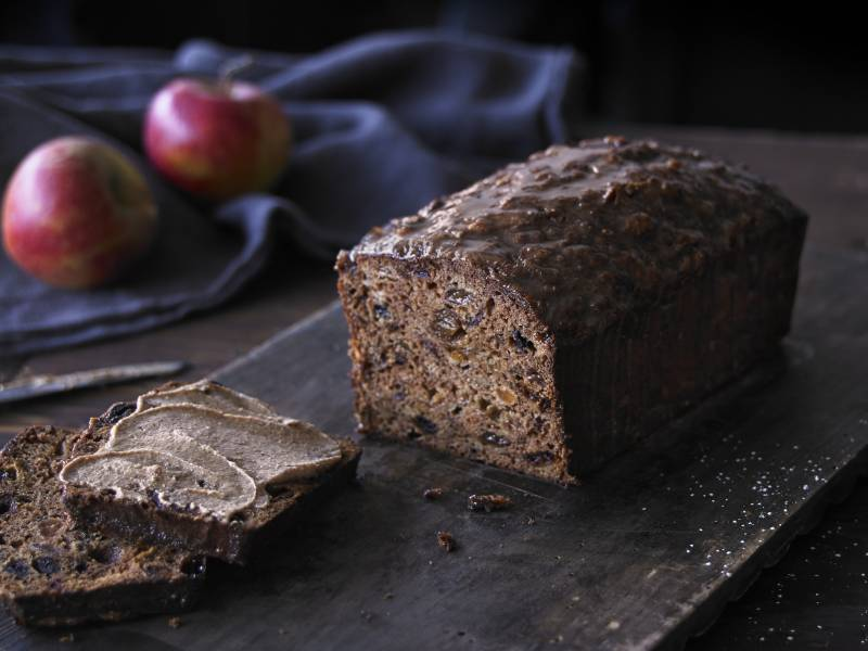 Apple & Almond Tea Loaf