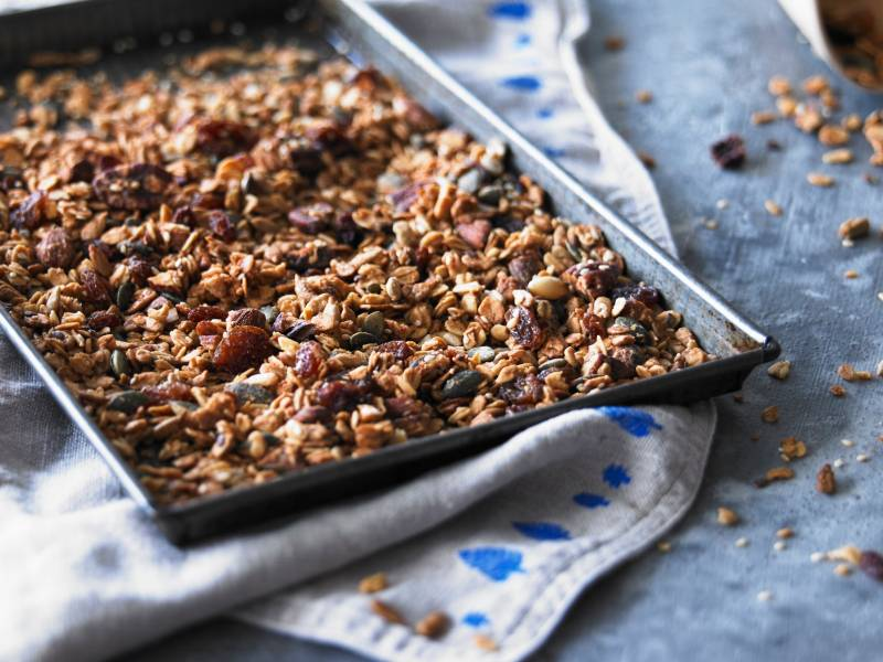 Seeded Maple Granola