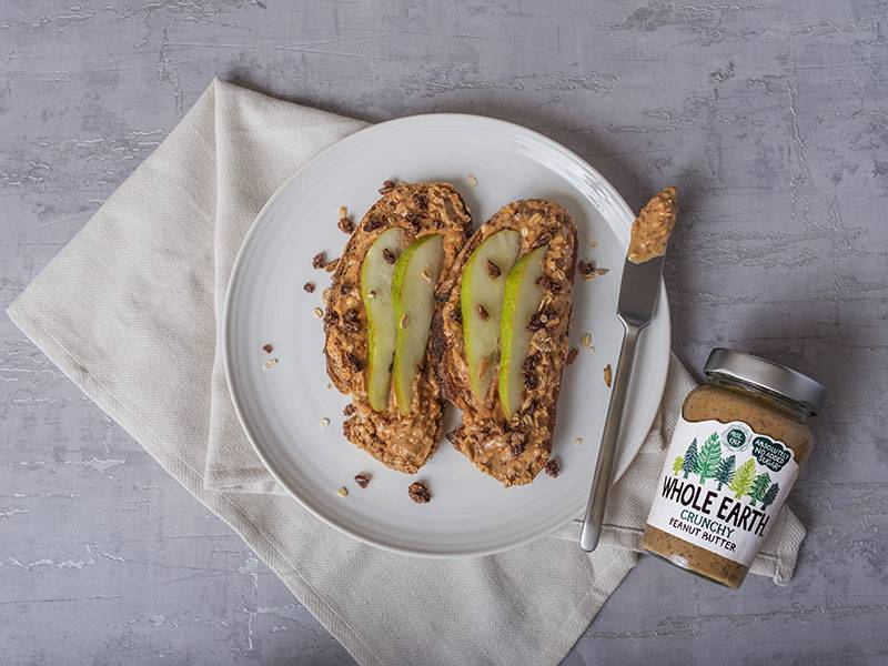 NUTTY PEAR TOAST