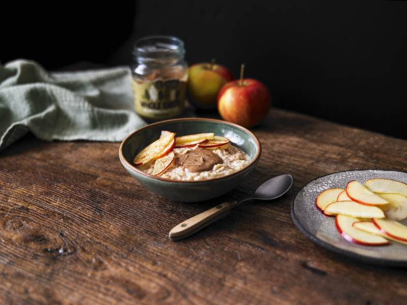 Apple & Almond Porridge